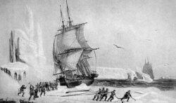 рисунок Павла Михайлова, художника экспедиции