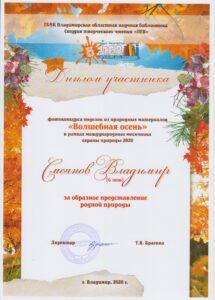 смеянов владимир 6 лет