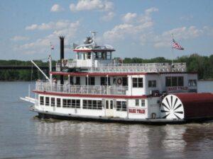 Пароход «Марк Твен» на реке Миссисипи