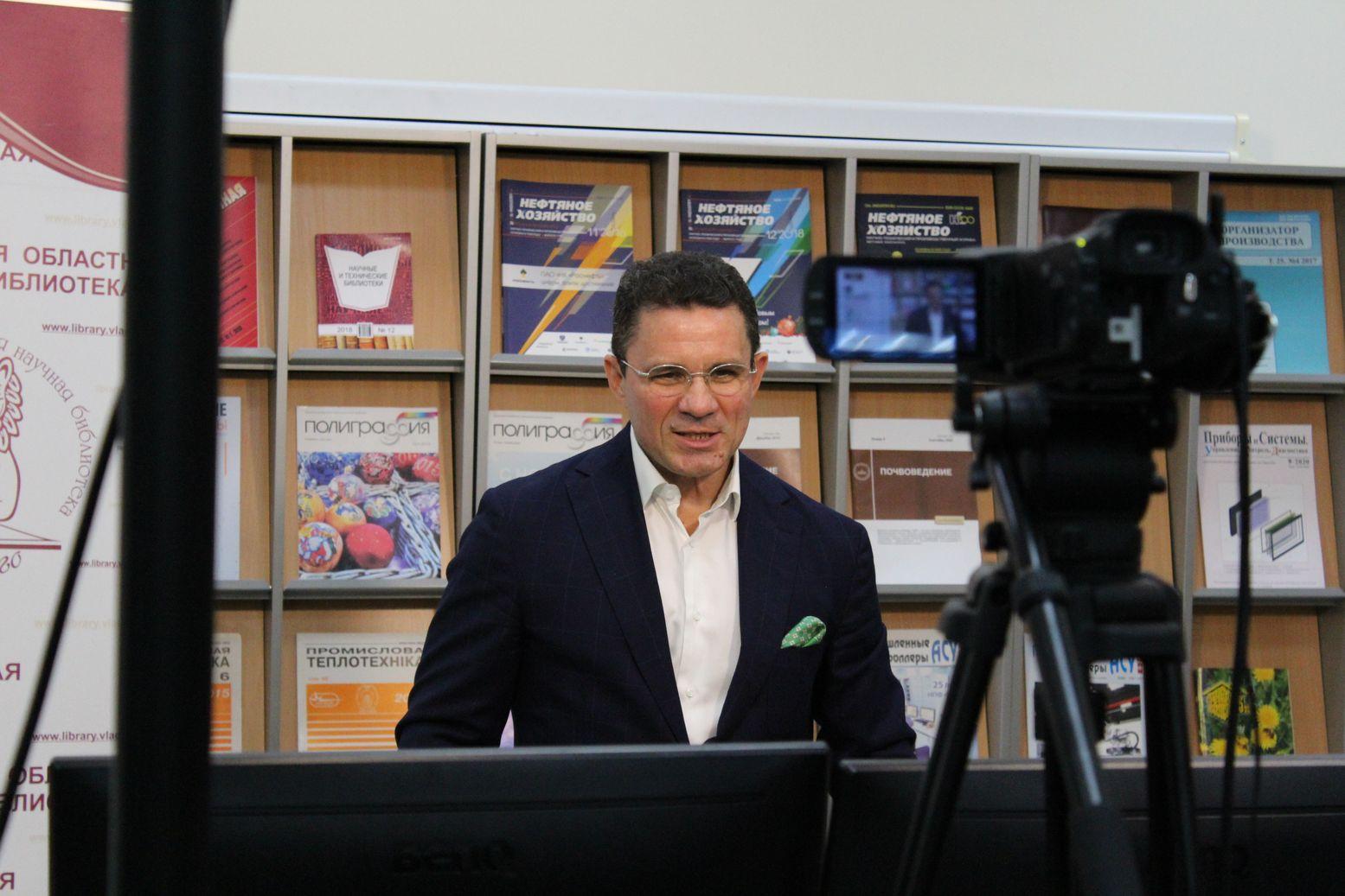 В.В. Дуда, генеральный директор Российской государственной библиотеки