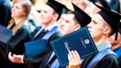 Международный день студента. Студенты выпускники