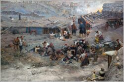 Картина Оборона Севастополя