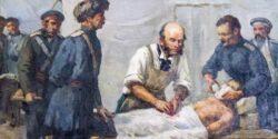 Картина Пирогов в работе