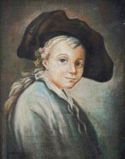 Портрет А. В. Суворова в детстве, неизвестный художник