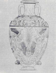 Чертомлыцкая ваза найденная в ходе экспедиции И. Е. Забелина
