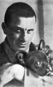 В. В. Маяковский и Булька