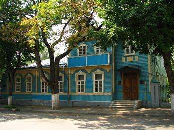 Дом-музей Н.С.Лескова, г. Орел, ул. Октябрьская, д.9..