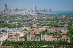 Один из кампусов Чикагского университета. Современное фото. 2005 г. Автор: Алекс МакЛиин
