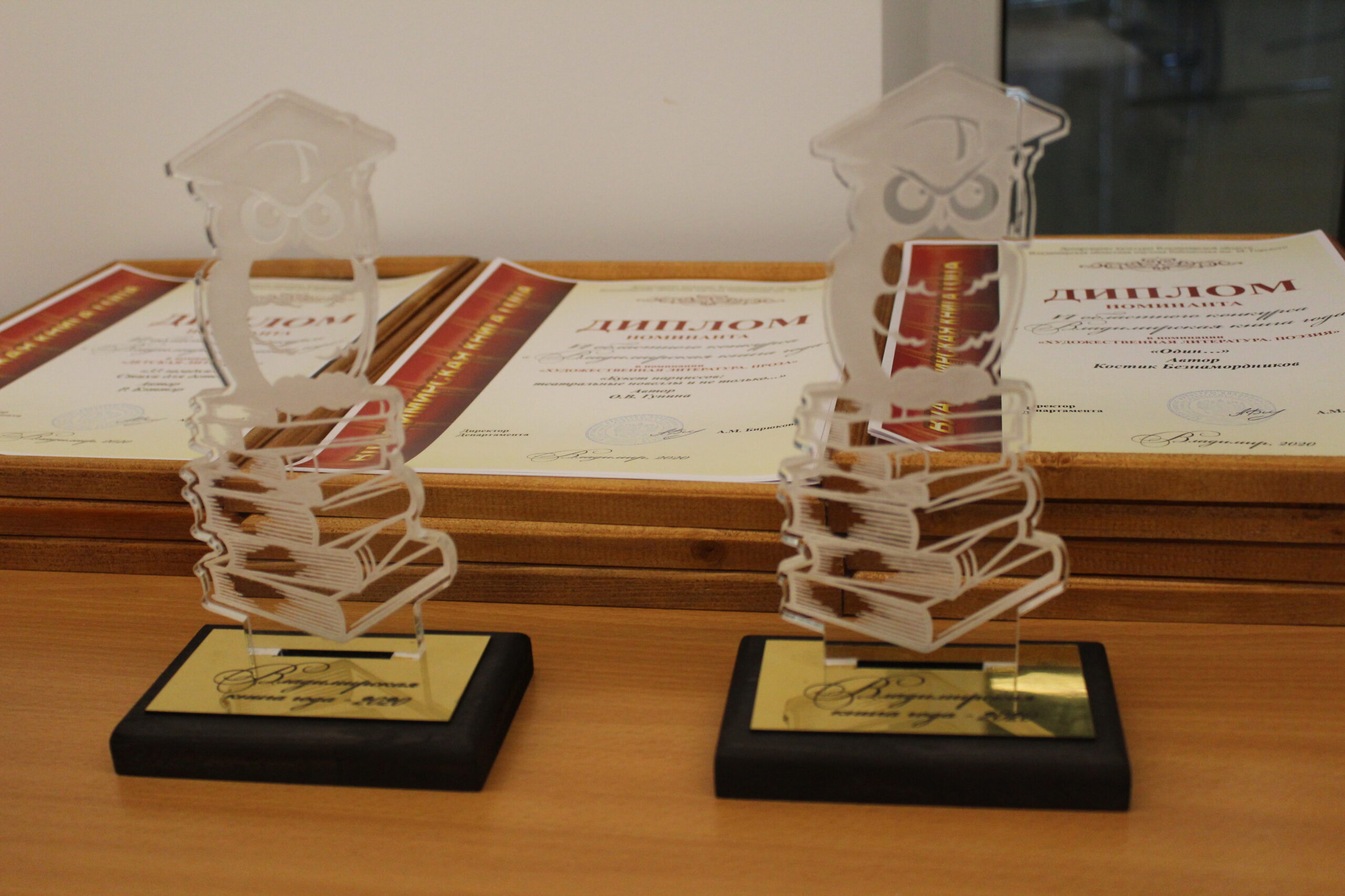 Дипломы и награды конкурса