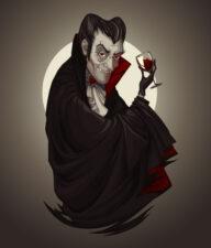 Мультипликационный персонаж Дракула