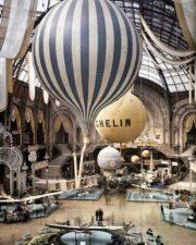 Первая выставка воздухоплавания в Париже. 1909 г.