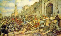Соляной бунт в Москве. 1648 год