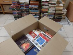 Дарите книги с любовью. Книги в коробке