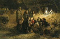 Григорий Мясоедов. «Чтение Положения 19 февраля 1861 года», 1873