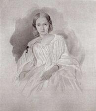 Елизавета Богдановна Грановская - супруга Т.Н. Грановского (1813-1855)