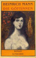 Генрих Манн. портреж женщины на обложке книги