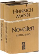 Генрих Манн. два тома книг на немецком языке