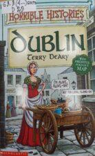 Земля Святого Патрика. обложка книги со средневековой женщиной с тележкой
