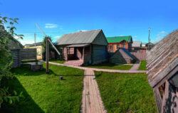Дом Сагъди абзый. Село Новый Кырлай.