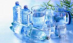 Питьевая вода в бутылках