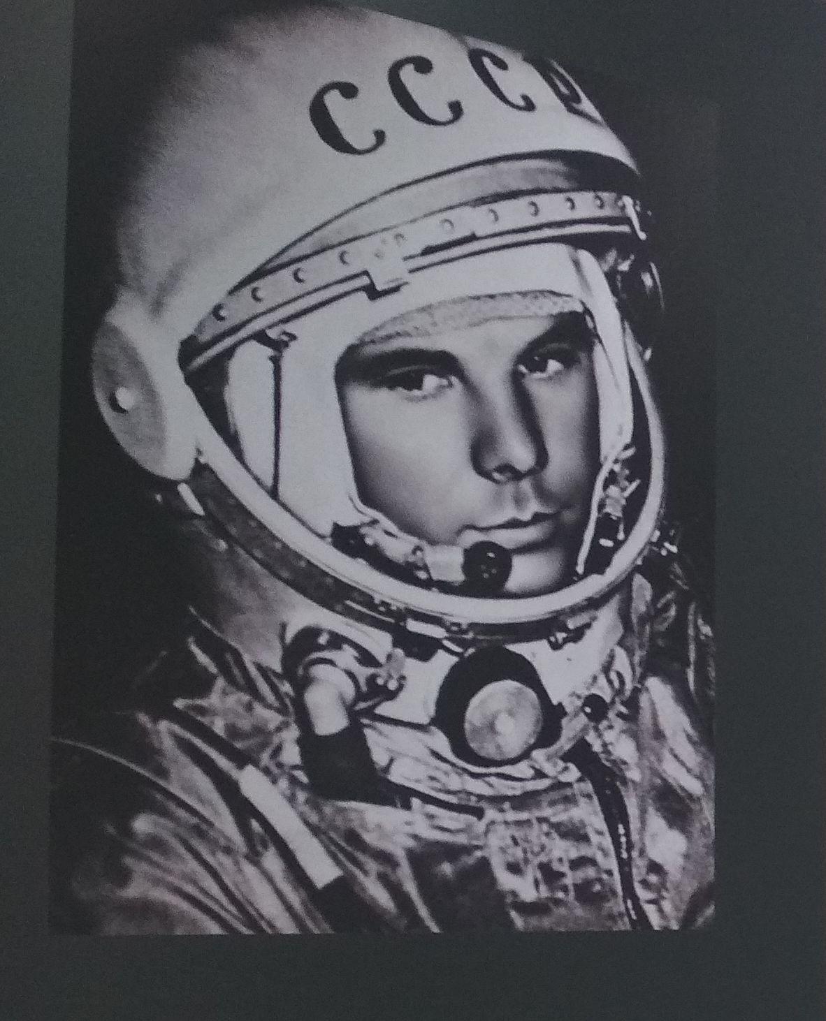 прошла библионочь: портрет Гагарина