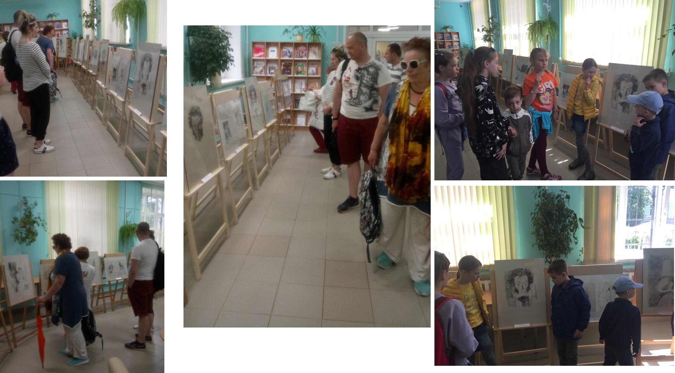 Выставка рисунков Горяева