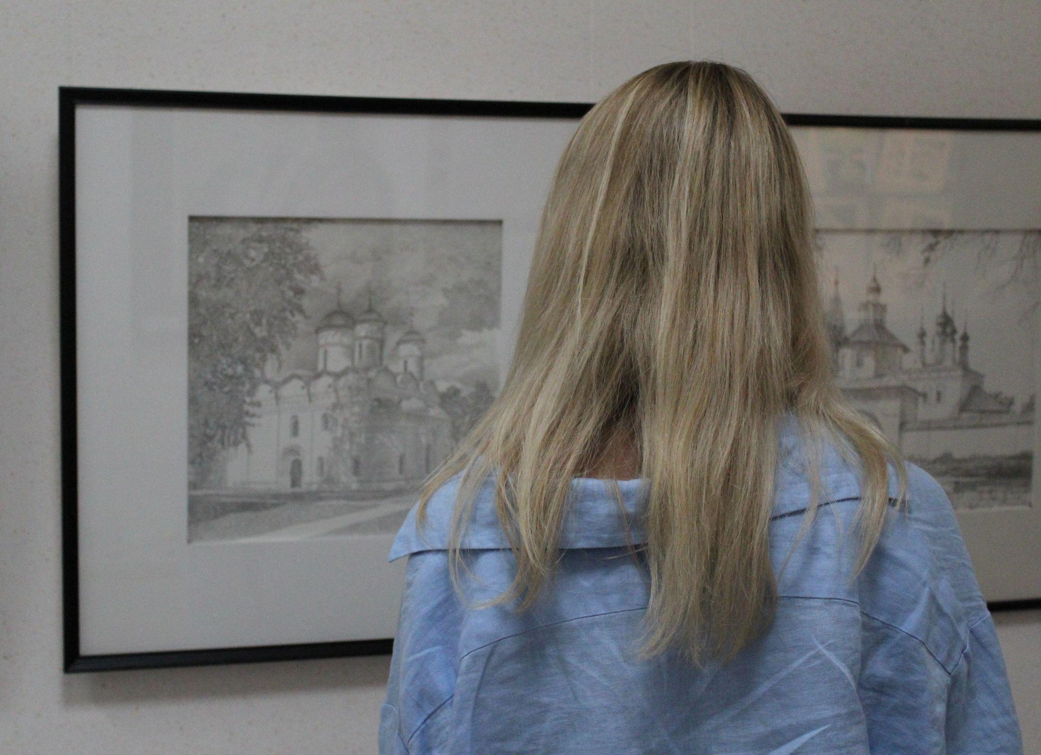 Пейзажи Владимира и Суздаля на выставке
