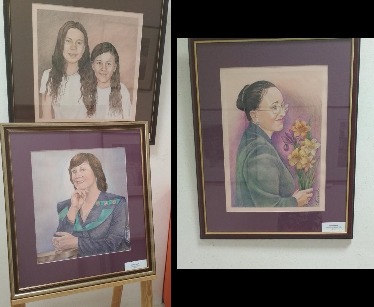 Портреты родных художник Михаил Белан