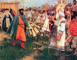Ян Вышатич и язычники. Сергей Иванов, 1912