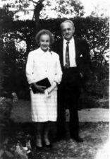 В.К. Зворыкин с супругой Е.А. Полевицкой