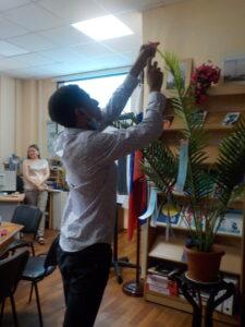 Наряжаем дерево тандзаку