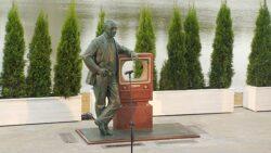 Памятник В.К. Зворыкину в Москве
